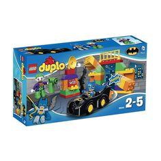 Lego Duplo - Super Heroes El Desafío Del Joker;  Ayuda a Batman con su Batmóvil para detener al malvado Joker. A los pequeños les encantará la construcción de escenas emocionantes mediante los bloques grandes, de colores brillantes y ayudar a Batman para salvar el día, una y otra vez... En  http://www.opirata.com/lego-duplo-super-heroes-desafio-joker-p-25889.html
