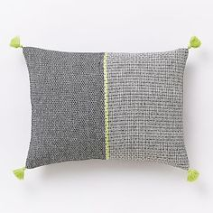 Wallace Sewell Warp Float Crewel Pillow Cover