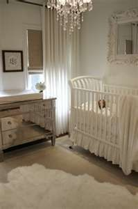 For all my friends having girls right now...this is so pretty! simple and elegant. When I have children, I want to make their nurseries as gender neutral as possible. Society sends too many messages to kids on how to behave, and I don't want them to get it from me too