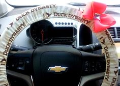 Duck Dynasty Steering Wheel Cover $22 Great Christmas Gifts.. www.etsy.com/shop/TurtleCoveStudio