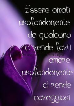 Nero come la notte dolce come l'amore caldo come l'inferno: essere amati profondamente ci rende forti .. amare...