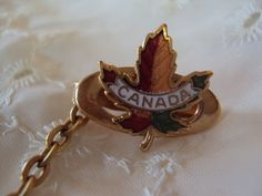 Vintage Maple Leaf Canadian Fort Henry by RetroRosiesVintage on Etsy