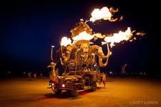 El Pulpo Mecanico Burning Man 2012