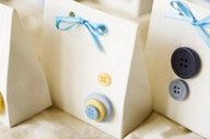 Gift Bags wth buttons