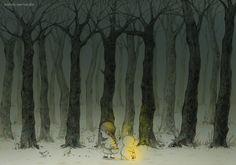 하나도 무섭지 않아. 우리가 함께 걷는다면. 씩씩하게 어둠을 헤치고. 밝은 빛을 따라서 한발자국씩. Not scary at all. When we walk together. Bravely through the dark, Step on the bright light.