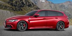 Even a Giulia-inspired crossover wouldn't look so bad. Check out these expert renders of what future Alfas could look like.