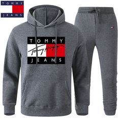 Marca Tommy, Man Set, Boys Nike, Sport Pants, Sportswear, Cool Outfits, Suits, My Style, Sweatshirts