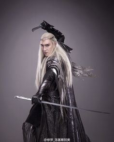 Another amazing new Thranduil photo!
