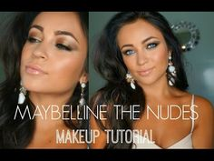 Love the Maybelline The Nudes Palette! Want to try this look for New Years Eve!