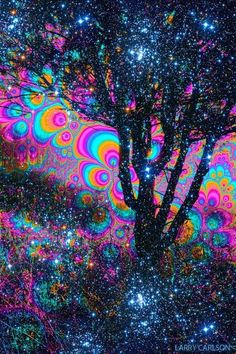 Psychedelic Dimensions of Consciousness, Larry Carlson Art Gallery surreale Kunstgalerie Universal Tree Larry Carlson Trippy Pictures, Trippy Wallpaper, Acid Trip, Psy Art, Hippie Art, Hippie Trippy, Visionary Art, Psychedelic Art, Oeuvre D'art