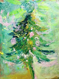 Leoma Lovegrove Painted Christmas Cards, Christmas Art, Florida Flowers, American Impressionism, Stationery Store, Nouvel An, Paint Party, Art Journal Inspiration, Collage Art