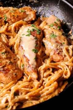New Orleans Chicken Lazone Pasta Chicken Lazone, Chicken Pasta Recipes, Creole Seasoning, Chicken Tenders, Spicy Recipes, Cravings