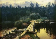 Isaac Levitan - By the Whirlpool,1898