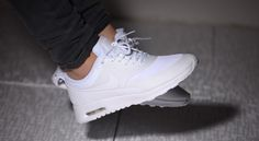 Just in! <3 Nike Air Max Thea All White