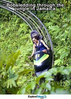 Bucket list bobsleigh Jamaica