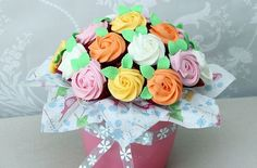 Cupcake bouquet recipe - Recipes - goodtoknow