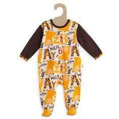 Pyjama imprimé jungle 'Petit Béguin' jaune Bébé garçon