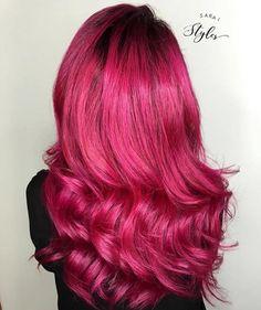 bright hot pink