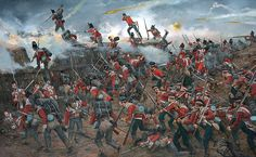 British Light Infantry Companies at the Battle of New Orleans, War of 1812
