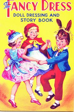 The Fancy Dress Doll Dressing Book  Birn Bros Ref. 444