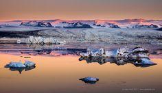Jokulsarlon Dawn Light by Adam Monk on 500px