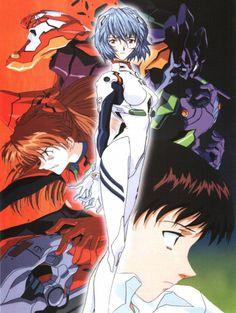 Neon Genesis Evangelion | Rei Ayanami | Shinji Ikari | EVA 01 | Asuka Langley Soryu | EVA 02