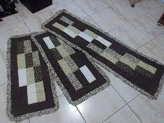 Resultado de imagem para tapetes em patchwork