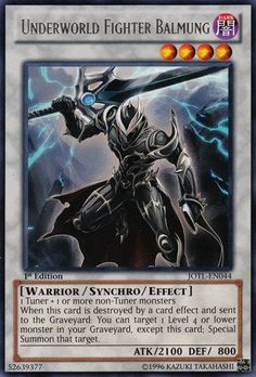 Yu-Gi-Oh! - Underworld Fighter Balmun... $0.44 #bestseller
