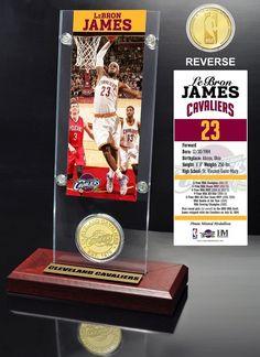 AAA Sports Memorabilia LLC - LeBron James Ticket #clevelandcavaliers #lebronjames #nba #nbacollectibles #sportscollectibles