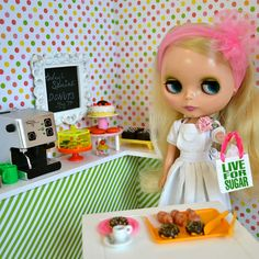 Blythe A Day May 7/31 Donuts by PistachioLibby, via Flickr