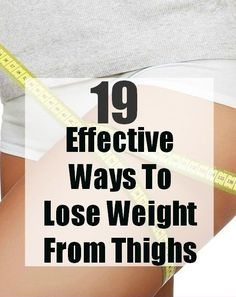 19 Effective Ways To Lose Weight From Thighs #weightlosssmoothiesrecipes