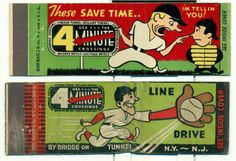 Port Authority New York #travel #baseball #matchbook cover  To order your logo'd #matchbooks GoTo www.GetMatches.com
