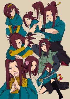CM - Himawari Kitsune by tsurugami on DeviantArt Anime Naruto, Naruto Girls, Naruto Uzumaki, Anime Ninja, Anime Oc, Naruto Art, Itachi, Boruto, Female Character Design