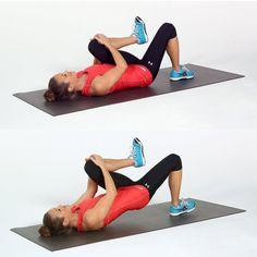 Work Your Butt: Single Leg Bridge
