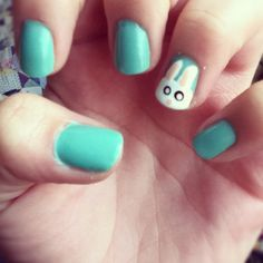 These would be my Easter nails! :)
