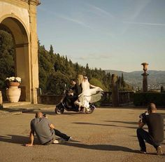 Lua de mel na Toscana