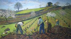Cultivation of the Vines - Henri Martin