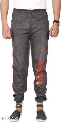 Track Pants Men's Casual Track Pant  *Fabric* Cotton Blend  *Waist Size* M- 30 in, L- 32 in, XL- 34 in  *Length* Up To 40 in  *Type* Stitched  *Description* It Has 1 Piece Of Men's Track Pant  *Work* Printed  *Sizes Available* M, L, XL *   Catalog Rating: ★3.9 (283)  Catalog Name: Mens Casual Cotton Blend Track Pants Vol 3 CatalogID_130046 C69-SC1214 Code: 542-1064507-
