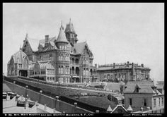 Stanford and Mark Hopkins Mansions c1890 | Flickr - Photo Sharing!