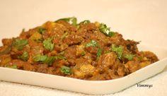 Beef & Raw Banana Stir Fry (Kerala, Indian Recipe)