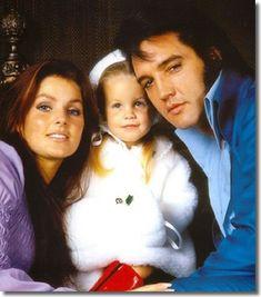 elvis lisa marie presley   Elvis, Priscilla & Lisa Marie - Elvis Presley Photo (26085051 ...