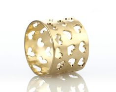 Valentines day ring #hearts #love #gold  #jewelry