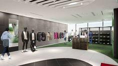 ※2017年4月21日リニューアルオープン ニューバランス東京が名前も新たにリニューアル。1階はウィメンズ商品を展開する。同店は「ランニングライフスタイル」がコンセプトのオフィシャルショップだけあり、ウェアとシューズのコーディネイトがしやすい商品構成となっている。そして、2階はゴルフとライフスタイルを中心のフロアとし