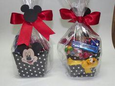 Saquinho Surpresa de Doces Aniversário Mickey