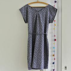 Sew Natural Blog: How to sew an easy dress #sewing #diy #handmade