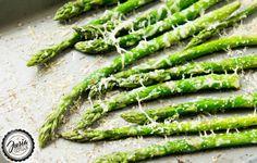 JUSIA GOTUJE Szparagi pieczone z parmezanem, Pieczone szparagi, szparagi z…