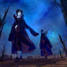 Kisame Hoshigaki & Itachi Uchiha,Akatsuki - Naruto