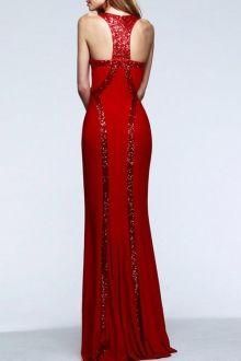 Sequined Mermaid Prom Dress