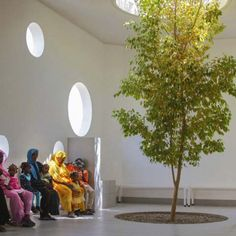 The Paediatric Centre by Tamassociati in Port, Sudan.