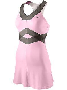 Sharapova's Style: Nike Women's Fall Maria Back Court Day Dress Netball Dresses, Sporty Outfits, Tennis Outfits, Tennis Dress, Tennis Clothes, Tennis Skirts, Tennis Fashion, Sport Fashion, Gym Outfits